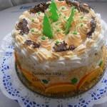 Karácsonyi narancs torta 2