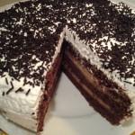 Karamellás tejszínes torta 3