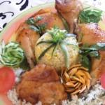 Mézes csirkecombok 1