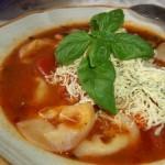 Peperonata levesesen gombás tortellinivel 1