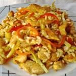 Rizses csirke keleti hangulatban 2