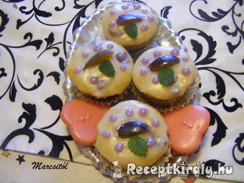Szilvás muffin