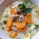 Tárkonyos pulykaragu leves 3