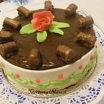 Túrós csokitorta 2