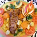 Zöldséges sült tarja 2