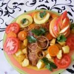 Zöldséges sült tarja 3