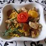 Barackos kukoricás csirkemell 1