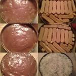 Csokis kókuszos torta sütés nélkül 2