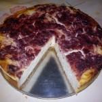 Klasszikus sajttorta meggylekvárral 3