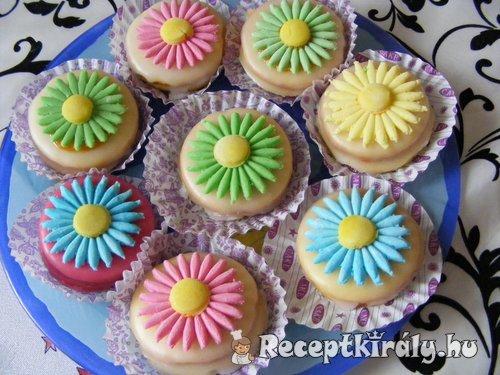 Százszorszép sütemény