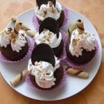 Csokis mogyorós muffin