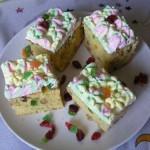 Diós gyümölcsös sütemény 1