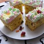 Diós gyümölcsös sütemény 3