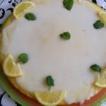 Egyszerű citromtorta