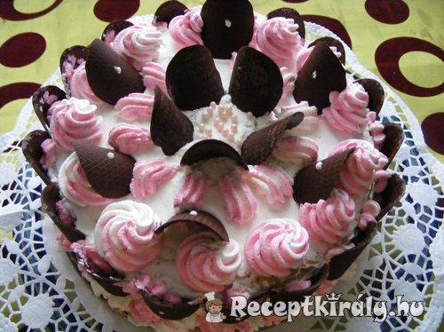 Karamelkrémes torta