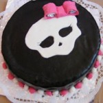 Monster high baba torta 2