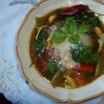 Rusztikus sonkás tortellini leves 1
