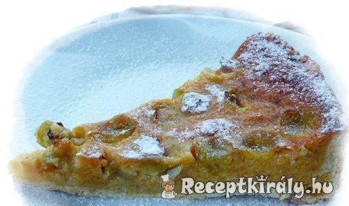 Szőlős sütőtökös pite