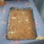 Túrós-almás pite 1