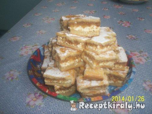 Túrós-almás pite 3