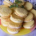 Citromos töltött keksz 2