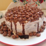 Csokoládés banánkrémes torta 1