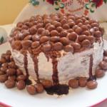 Csokoládés banánkrémes torta