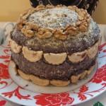 Csokoládés diós torta 1