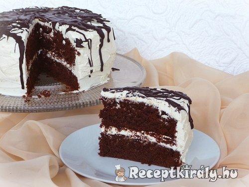 Sütőtökös csokoládétorta