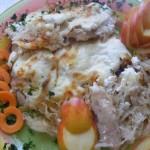 Savanyúkáposztás csirkemell 2