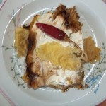 Tejfölös rakott kelkáposzta a sütőből 1