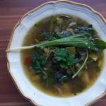 Öthagymás leves 2