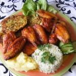 Csipős csirkeszárny 1