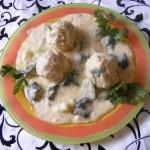 Cukkini főzelék húsgombóccal 2