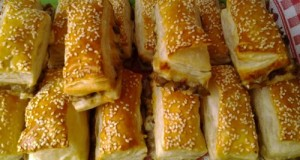 Gombás baconos sajtos stanglik
