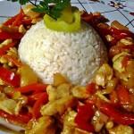 Édes savanyú csirkemell 2