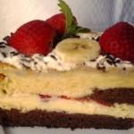 Epres banános torta 2