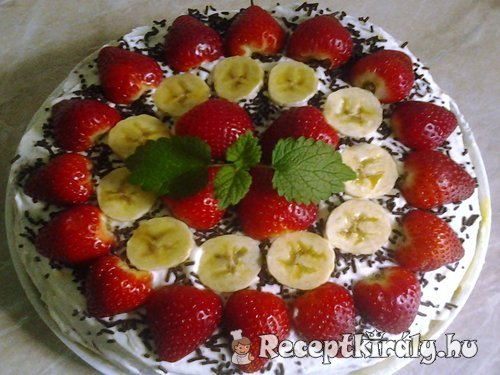 Epres banános torta 3