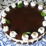 Négerkocka torta 1