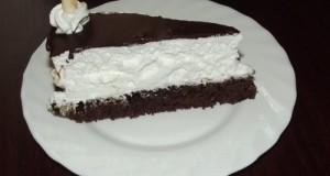 Négerkocka torta