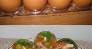 Zselé tojás
