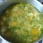 Cukorborsó leves csipetkével