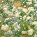 Cukorborsó leves csipetkével 3