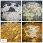 Krumplis édeskáposzta főzelék