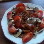 Halsaláta rizzsel chiliszósszal 1