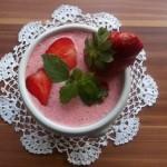 Hideg tejszínes eperkrémleves 1
