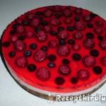 Epres joghurttorta sütés nélkül 1