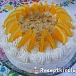 Narancsos oroszkrém torta II