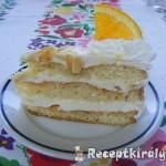 Narancsos oroszkrém torta II 2