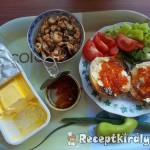 Piros kaviáros szendvics vacsorára 1